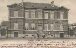 Pont-à-Celles - Luttre - Maison Communale - Vue Animée - 2 Scans - Pont-à-Celles