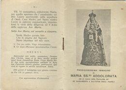Libretto Immagine Maria SS. Addolorata Con Preghiere Chiesa SS. Sacramento NA (804) - Boeken, Tijdschriften, Stripverhalen