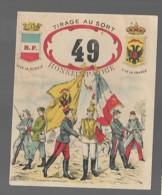 Tirage Au Sort 49 Honneur Patrie Vive La France Vive La Russie  A. Charnay  Périgueux - Other