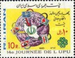 MNH STAMPS Iran - World Post Day  -1983 - Iran