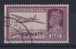Kuwait: 1945   KGVI 'Kuwait' OVPT   SG63    14a      Used - Koweït