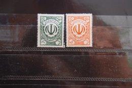 IRAN REVENUE SET OF 2 - Irán