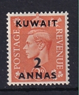 Kuwait: 1948/49   KGVI    SG67    2a On 2d      MH - Koweït