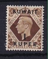 Kuwait: 1948/49   KGVI    SG71    1R On 1/-      MH - Koweït