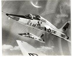 NORTHROP T-38 TRAINER, 1er Avion Supersonique.N° TF-887, Année 1960. Voir Toutes Mes Annonces Sur NORTHROP. 3ème Annonce - Aviation
