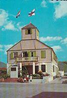 SAINT-MARTIN. - TOWN HALL, PHILIPSBURG. Carte RARE - Saint-Martin