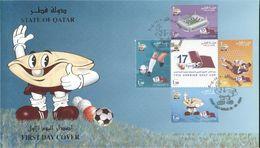 Quatar 2004, 17th Arabian Gulf Cup, In FDC - Qatar