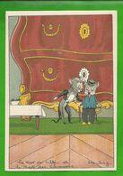CP  BARRE-DAYEZ N° 1430 H Le Rat De Ville Et Le Rat Des Champs  De Jean De La Fontaine - Altre Illustrazioni