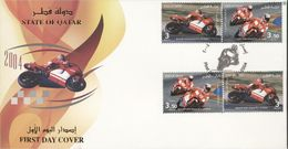 Quatar 2004, Moto GP, FDC - Qatar
