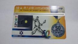 Israel-(bzp26)-tennis-(tirage-1.035)-mint Card+1card Prepiad Free - Israele