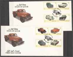Quatar 2005, Classic Cars, FDC - Qatar