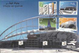 Quatar 2006, 15th Asian Games, Doha - Stadium, FDC - Qatar