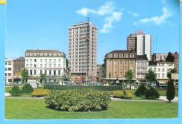 """Charleroi-+/-1970-Place Buisset-face à La Gare-""""Aux Caves D'Artois""""(Ibis)-Pub.Bière """"Stella Artois""""-""""Ekla""""-""""Alliés"""" - Charleroi"""