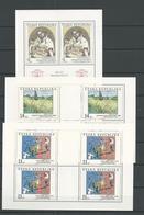 1993 MNH Ceska Republika, Kleinbogen,  Postfris - Blokken & Velletjes