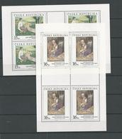 1999 MNH Ceska Republika, Kleinbogen,  Postfris - Blokken & Velletjes