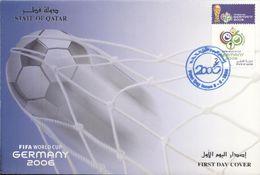 Quatar 2006, Football World Cup In Germany, FDC - Qatar
