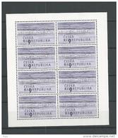 2001 MNH Ceska Republika, Kleinbogen,  Postfris - Blokken & Velletjes