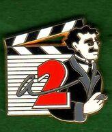 Pin's Antenne 2 Groucho  Zamac Arthus Bertrand - Arthus Bertrand
