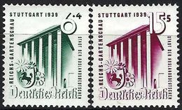 ALLEMAGNE 1939:  Les Y&T 632-633 Neufs* - Ungebraucht