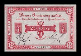 Groenlandia Greenland 25 Ore 1905 Pick 4b SC UNC - Groenlandia