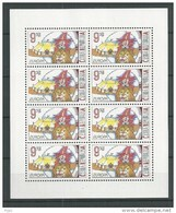 2002 MNH Ceska Republika, Kleinbogen,  Postfris - Blokken & Velletjes