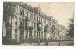Gent Le Boulevard Du Parc Oude Postkaart Gand Carte Postale Ancienne - Gent