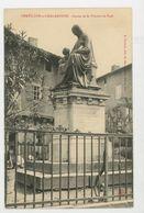 CPA: 01 - CHATILLON-SUR-CHALARONNE - STATUE DE St VINCENT DE PAUL - - Châtillon-sur-Chalaronne