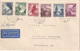 ALLEMAGNE 1939 PLI AERIEN DE BERLIN POUR ZURICH - Germany
