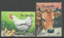 FRANCE FAUNA 2v, MNH - Ferme