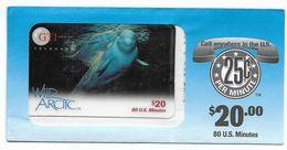 GTI  U.S.A., Fauna, $20 Prepaid Phone Card, SAMPLE, # Gti-3 - Schede Telefoniche