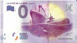 BS-20 - CHERBOURG-EN-COTENTIN - La Cité De La Mer  (Titanic Et Redoutable) 2017-2 - EURO