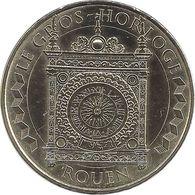 2020 MDP117 - ROUEN - Le Gros Horloge / MONNAIE DE PARIS 2020 - Monnaie De Paris