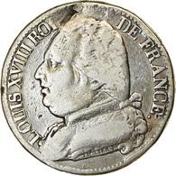 Monnaie, France, Louis XVIII, 5 Francs, 1814, Paris, TB, Argent, Gadoury:591 - Frankrijk