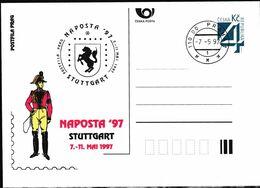Cesca, 1997, P 26-A 3, NAPOSTA STUTGART - Ganzsachen
