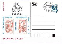 Cesca, 1997, P 26-A 4, RICCIONE - Ganzsachen