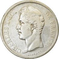 Monnaie, France, Charles X, 5 Francs, 1830, Lille, TB, Argent, Gadoury:644 - Frankrijk