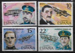 ESPAGNE  N°  2229/32   * * Avions Vives Loygorri Aphonse D Orleans Kindelan - Airplanes
