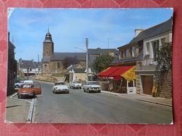 Dep 35 , Cpm SAINT COULOMB , 3 , La Rue De La Poste Et L'Eglise , 70/1470 (227) - Saint-Coulomb