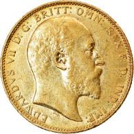 Monnaie, Australie, Edward VII, Sovereign, 1902, Melbourne, SUP, Or, KM:15 - Victoria