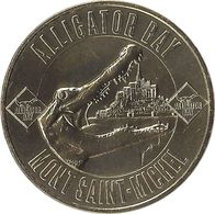 2020 MDP298 - BEAUVOIR - Alligator Bay (Mont Saint-Michel)  / MONNAIE DE PARIS 2020 - Monnaie De Paris