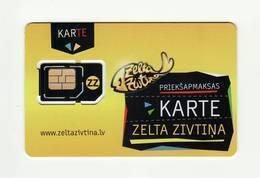 LATVIA GSM SIM MINT!!! - Lettland