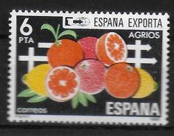 ESPAGNE  N°  2254  * *  Fruits Agrumes - Frutta