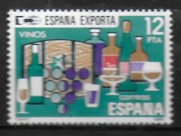 ESPAGNE  N°  2255  * *  Vin Raisin - Wein & Alkohol