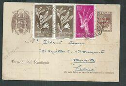 Sahara Espagnol . Entero Postal Con Franqueo Adicional. La Guera , Entier Postal - Spaanse Sahara