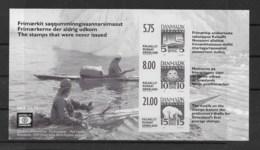 Grönland 2001 Briefmarken Block 22 ** - Greenland