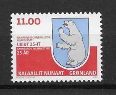 Grönland 2004 Wappen Mi.Nr. 412 ** - Greenland