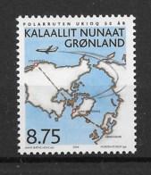 Grönland 2004 Landkarte Mi.Nr. 413 ** - Greenland