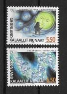 Grönland 2004 Norden Mi.Nr. 414/15 Kpl. Satz ** - Greenland