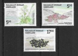 Grönland 2004 Pflanzen Mi.Nr. 418/20 Kpl. Satz ** - Greenland