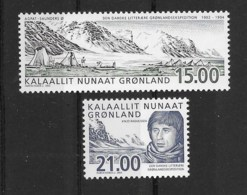 Grönland 2003 Rasmussen Mi.Nr. 396/97 Kpl. Satz ** - Nuovi